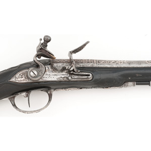 German Flintlock Pistol