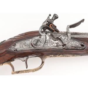Pair of 18th Century Austrian Flintlock Pistols