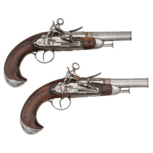 Pair of Spanish Miquelet Pistols
