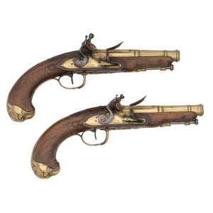 Pair of French Flintlock Pistols