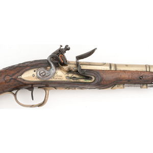 Pair of French Flintlock Pistols