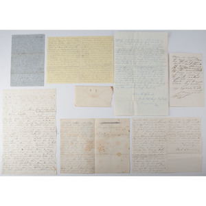 Group of Civil War Letters from Various Units, Lot of 7
