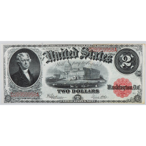 United States $2 Bill Series of 1917
