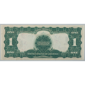 United States $1 Silver Certificate Series of 1899