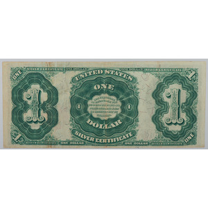 United States $1 Silver Certificate Bank Note Series of 1891