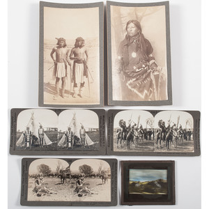 American Indian Photographic Image Collection, Lot of 6