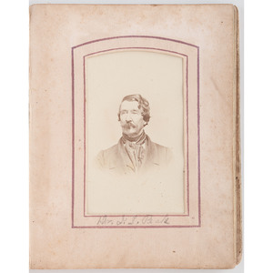 Peck/Rhoton CDV Collection, Many with Virginia and Tennessee Imprints, Lot of 70, Incl. Family of CSA Sergeant Jacob Peck Rhoton