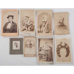 Extensive CDV Collection, Including Interesting and Unusual Subject Matter