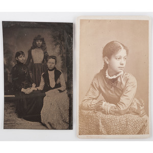 Early Photography Featuring Mulatto Children, Lot of 2