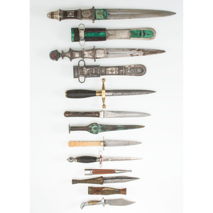 large Lot of Edged Weapons