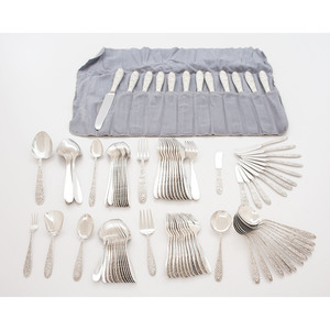 Manchester Sterling Flatware, Southern Rose