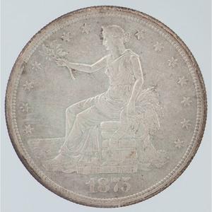 United States Trade Dollar 1875-S