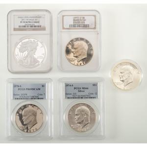 United States Eisenhower Dollars PLUS