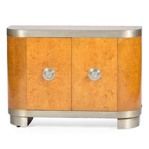 Art Deco Birdseye Maple Credenza