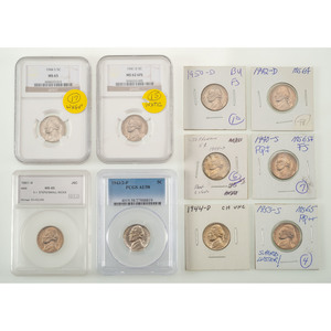 United States Jefferson Nickels