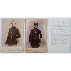 Pair of Civil War Cabinet Cards