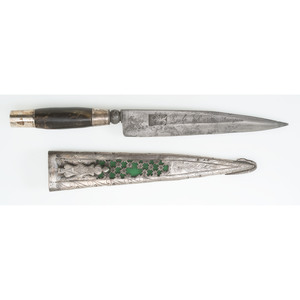 Spanish Silver Mounted Knife
