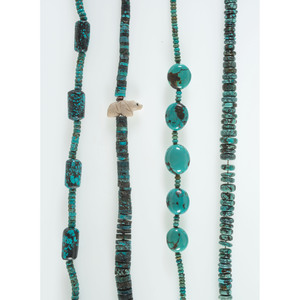 Rolled Turquoise Necklaces