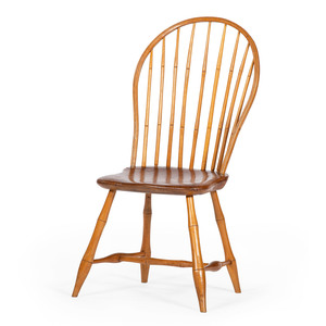 Pittsburgh Bowback Windsor Chair by William Davis