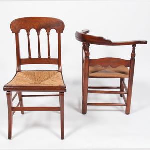 Rush Seat Side and Corner Chairs