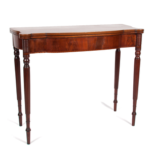 Sheraton Game Table with Inlay