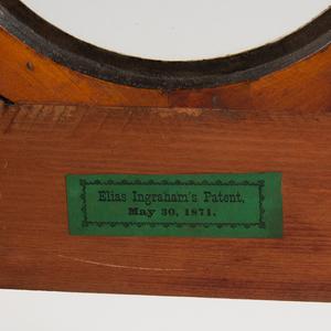 E. Ingraham Grecian Mantel Clock
