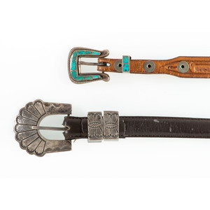 Sterling Silver and Turquoise Ranger Sets
