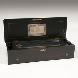 B. A. Bremond Twelve Tune Cylinder Music Box