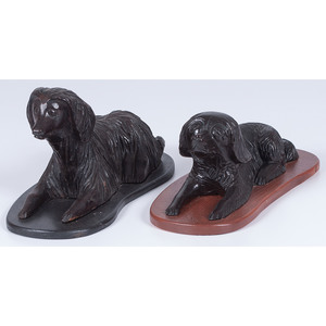 H.N. Wenning Dog Figures