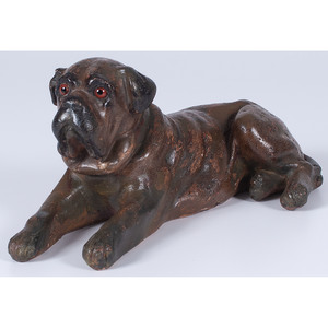 Terracotta Dog Figure