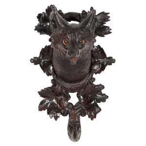 Black Forest Fox Coat Hook