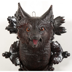 Black Forest Fox Coat Hook