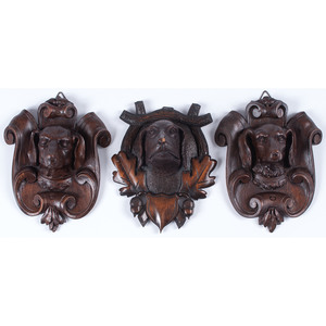 Black Forest Dog Plaques