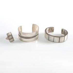 Southwestern Silver Cuff Bracelets PLUS