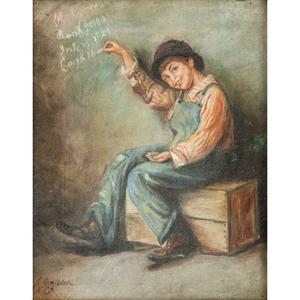 JG Brown Painting