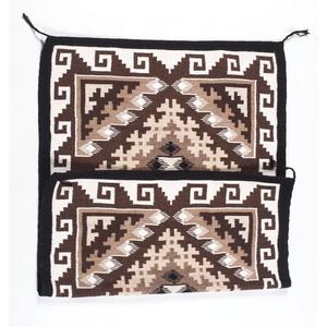 Navajo Two Grey Hills Weaving / Rug