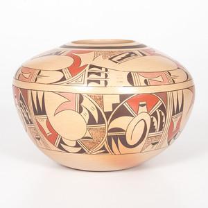 Karen Kahe Charley (Hopi, act. 1980) Pottery Bowl