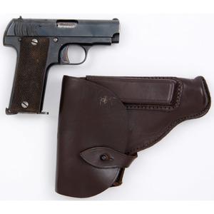 ** Brunswig Model 1918 Pistol