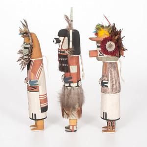 Raynard Lalo (Hopi, b. 1984) Katsinas