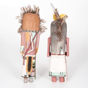 Philbert Honanie (Hopi, b. 1966) and Kory Jean (Hopi, 20th century) Katsinas