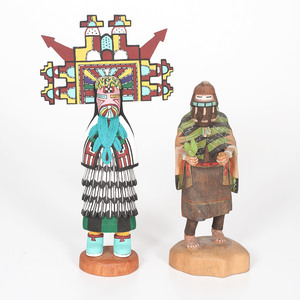Sankey George (Hopi, 20th century) Katsina Doll, PLUS