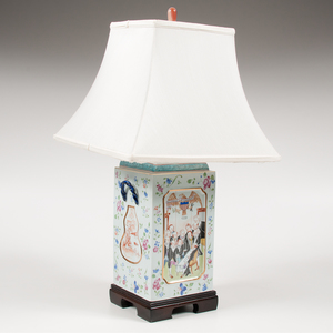 Chinese Export Declaration of Independence Lamp