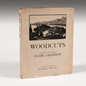 Woodcuts: Examples of the Work of Clare Leighton Signed Copy, 1930