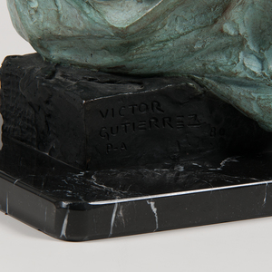 Victor Manuel Gutierrez (Mexican, b. 1950) Bronze
