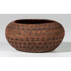 Chumash Polychrome Basket
