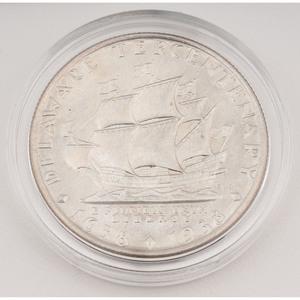United States Delaware Tercentenary Commemorative Half Dollar 1936