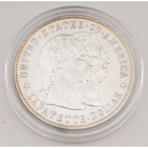 United States Lafayette Commemorative Silver Dollar 1900
