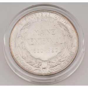 United States Maine Centennial Commemorative Half Dollar 1920