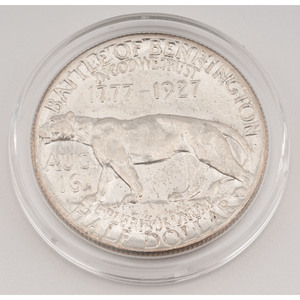 United States Vermont Sesquicentennial Commemorative Half Dollar 1927