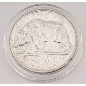 United States California Diamond Jubilee Commemorative Half Dollar 1925